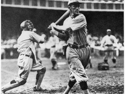 Johnny Evers of the Chicago Cubs in Action During 1906