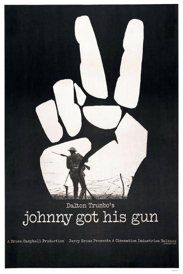 JOHNNY GOT HIS GUN, US poster, 1971--Art Print