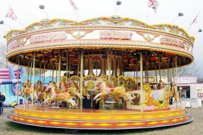Fairground Carousel by Johnny Greig