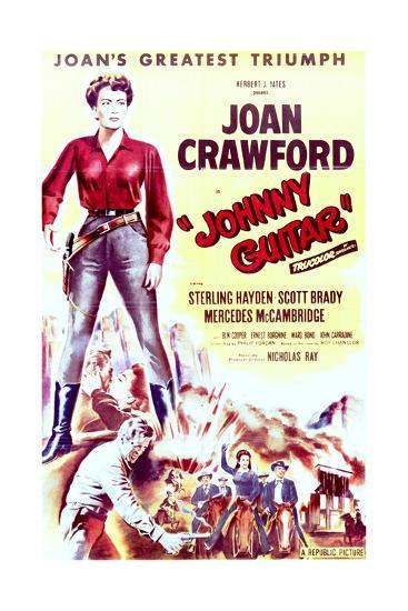 Johnny Guitar - Movie Poster Reproduction--Art Print