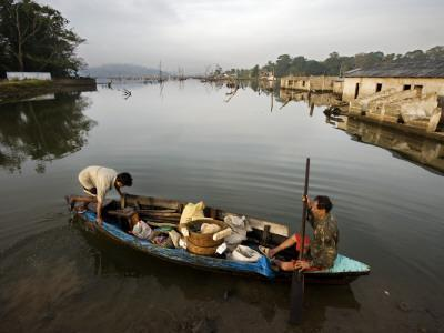 Former Farmers, Now Fishermen, from Village Flooded During the Tsunami in 2004
