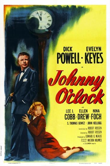 Johnny O'Clock--Art Print