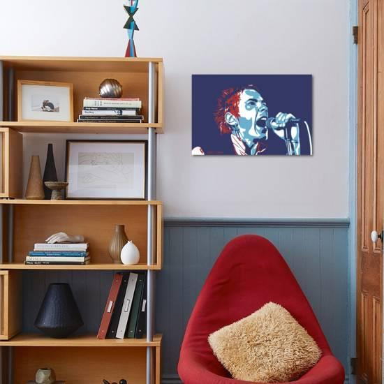 cd720de5a0 Johnny Rotten - God Save the Queen-Emily Gray-Giclee Print displayed on a