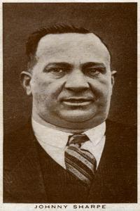 Johnny Sharpe, British Boxing Manager, 1938
