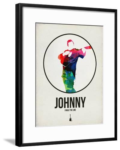 Johnny Watercolor-David Brodsky-Framed Art Print