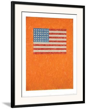 Flag on Orange Field by Johns