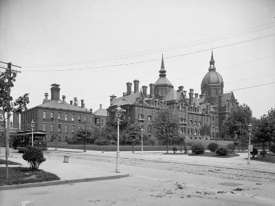 Johns Hopkins Hospital, Baltimore, Md., C.1903--Photographic Print