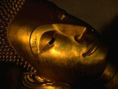 Detail of Buddha Statue, Nakhon Pathom, Thailand