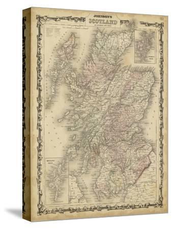Johnson's Map of Scotland