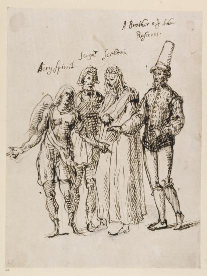 Johphiel, Merefool, Skelton and Scogan, C.1625-Inigo Jones-Giclee Print
