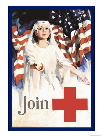 Join, American Red Cross-Walter W. Seaton-Art Print