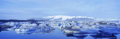Jokulsarlon Glacial Lagoon, Vatnajokull Ice Cap, South Iceland, Iceland, Polar Regions-Simon Harris-Photographic Print