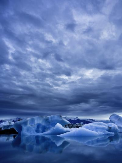 Jokulsarlon Iceberg Lagoon, Iceland-Michele Falzone-Photographic Print