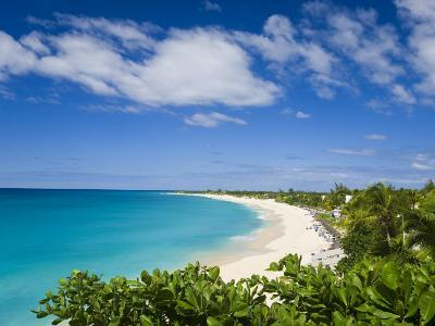 Jolly Harbour and Jolly Beach, Antigua, Leeward Islands, West Indies, Caribbean-Gavin Hellier-Photographic Print