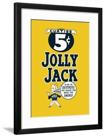 Jolly Jack--Framed Art Print