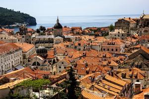 Dubrovnik, Croatia. Aerial view of the Old Town of Dubrovnik. by Jolly Sienda