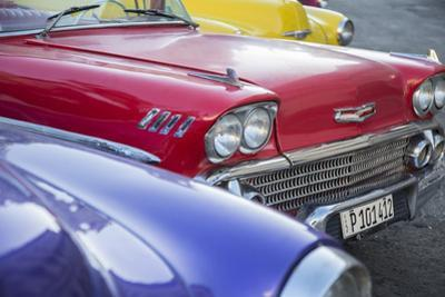 1958 Chevrolet Impala, Parque Central, Havana, Cuba
