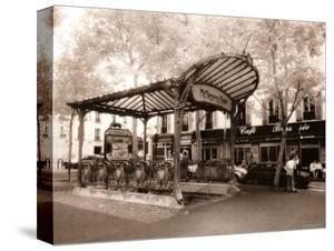 Paris Métro canvas artwork for sale, Posters and Prints at Art.com