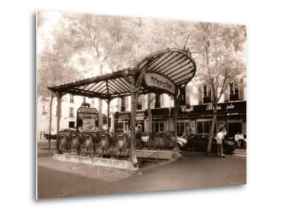 Abbesses Metro, Paris, France