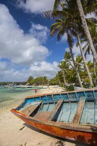 Beach at Trou D'Eau Douce, Flacq, East Coast, Mauritius by Jon Arnold
