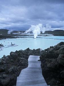 Blue Lagoon, Grindavik, Nr. Reykjavik, Iceland by Jon Arnold