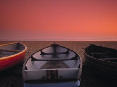 Boats on the beach, Brighton, East Sussex, England by Jon Arnold