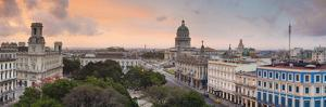 Capitolio and Parque Central, Havana, Cuba by Jon Arnold