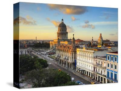 Capitolio and Parque Central, Havana, Cuba
