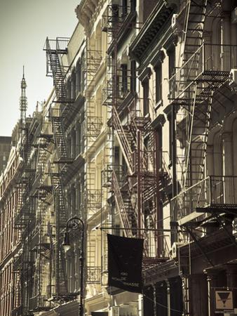 Cast Iron Architecture, Greene Street, Soho, Manhattan, New York City, USA