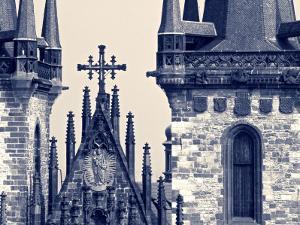 Church of Our Lady Before Tyn, Prague, Czech Republic by Jon Arnold