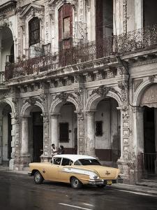 Classic American Car (Chevrolet), Paseo Del Prado, Havana, Cuba by Jon Arnold
