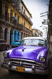 Classic American Car, Havana, Cuba by Jon Arnold