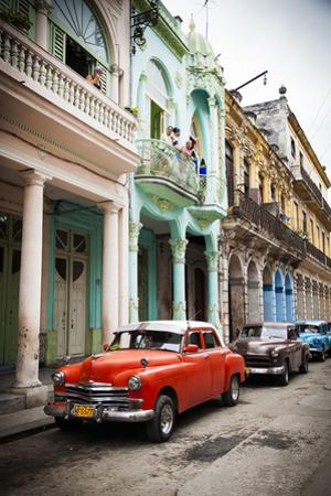 Classic American Car (Plymouth), Havana, Cuba