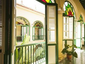 Colonial-era Casa (House) in Habana Vieja, Havana, Cuba by Jon Arnold