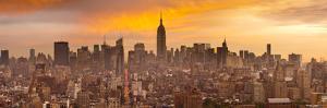 Empire State Building and Midtown Skyline, Manhattan, New York City, USA by Jon Arnold