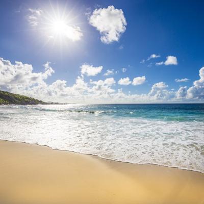 Grand Anse Beach, La Digue, Seychelles by Jon Arnold