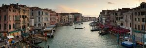 Grand Canal from the Rialto, Venice, Italy by Jon Arnold