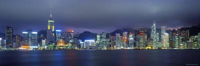 Hong Kong Skyline from Kowloon, China