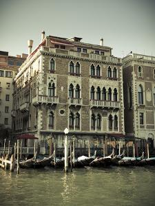 Hotel Bauer Palazzo, Grand Canal, Venice, Italy by Jon Arnold