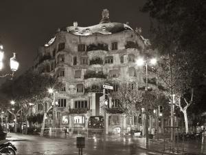 La Pedrera (Casa Mila) by Gaudi, Barcelona, Spain by Jon Arnold