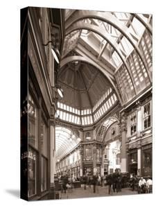 Leadenhall Market, City of London, London, England by Jon Arnold