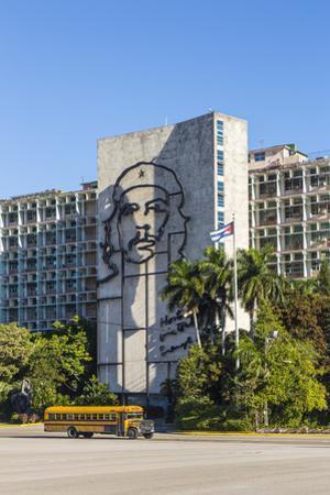 Ministerio Del Interior, Plaza De La Revolucion, Vedado, Havana, Cuba