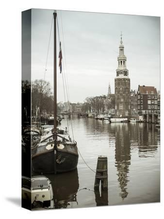 Montelbaanstoren Tower, Oudeschans Canal, Amsterdam, Holland