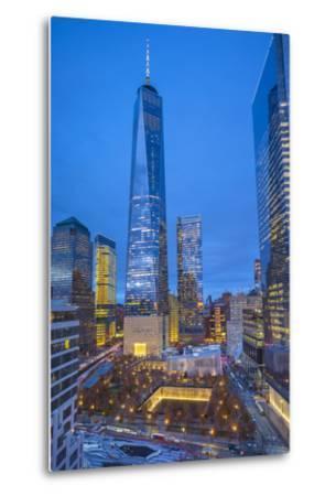 One World Trade Center and 911 Memorial, Lower Manhattan, New York City, New York, USA