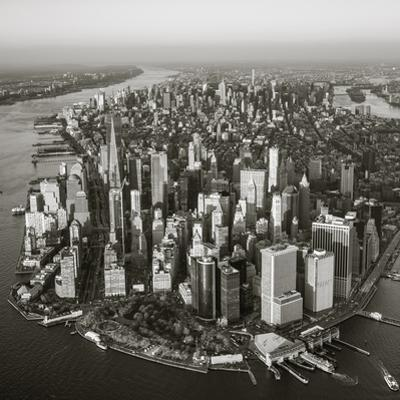 One World Trade Center and Lower Manhattan, New York City, New York, USA
