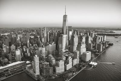 One World Trade Center and Lower Manhattan, New York City, New York, USA by Jon Arnold