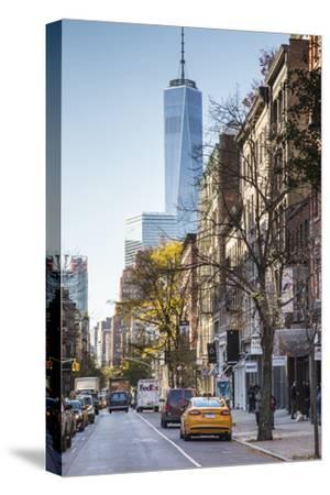 One World Trade Center from Soho, New York City, New York, USA