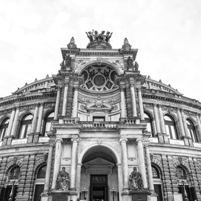 Opera House (Semperoper Dresden), Dresden, Saxony, Germany by Jon Arnold
