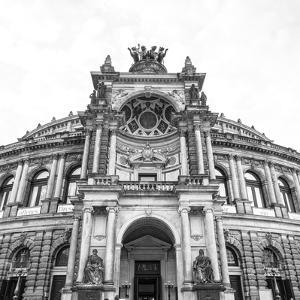 Opera House (Semperoper Dresden), Dresden, Saxony, Germany by Jon Arnold