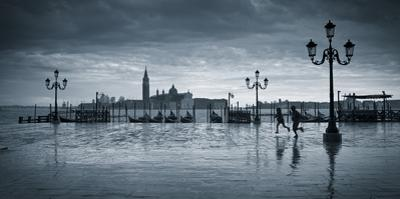 Piazza San Marco Looking across to San Giorgio Maggiore, Venice, Italy by Jon Arnold